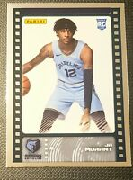2019-20 Panini NBA Sticker & Card Collection Ja Morant #82 Silver Foil RC