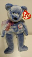Ty Beanie Babies - PERIWINKLE the E-Bear Online Exclusive Beanie Baby - MWMT