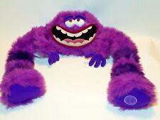 Monsters Inc Art Plush 17 inch Large Purple Bendable Doll Jumbo Toy Disney Store