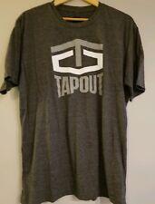 WWE Tapout 1st T-Shirt Grey Rare ufc mma ecw wcw wrestling 2XL XXL john cena jcw