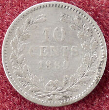 Netherlands 10 Cents 1889 (D2004)