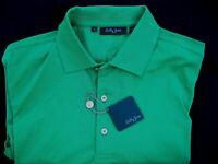 NWT Bobby Jones Polo Golf SS Short Sleeve Emerald Green Shirt Mens M Medium