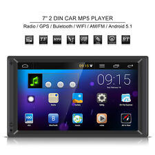 "7"" 2 DIN Car Stereo Radio MP3 MP5 Player GPS FM/AM BT Android 5.1 Auto Autoradio"