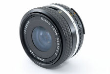 【AS IS】 Nikon SERIES E 35mm F2.5 Ai-s From Japan *443
