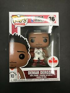 NEW Funko Pop NBA DeMar DeRozan #36 Canadian Exclusive Toronto Raptors - MINT