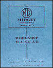 MG TD TF Midget Shop Manual 1950 1951 1952 1953 1954 1955 Workshop Service