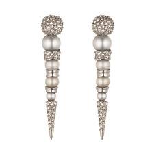 Alexis Bittar Crystal Encrusted Post Earrings