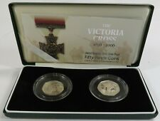 2006 Great Britain Uk 50 Pence Coins Silver Proof Set w/ Box & Coa #23987L