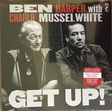 BEN HARPER & CHARLIE MUSSELWHITE ... GET UP! LP  RED VINYL