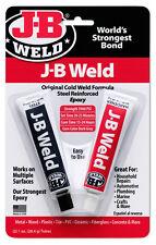 JB J-B Weld Steel Reinforced Epoxy Industrial Strength Adhesive Cold Auto Weld