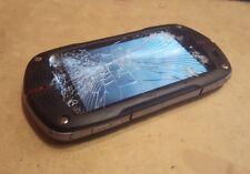 Casio G'zOne Commando C771 - 1GB - Black (Verizon) Smartphone BROKEN - AS IS