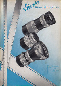 Schneider Kino-Objektive