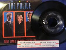 THE POLICE Dont Stand So Close To Me SINGLE 45 RPM A&M RECORDS