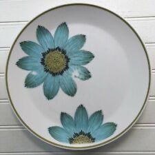 Noritake Progression Up Sa Daisy Dinner Plate Blue Flowers Vintage Japan