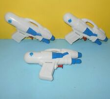 "Star Wars Clone Wars Captain Rex, Blue White Mini Squirt Gun Toys 6"" Long 3.5"" T"