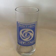 LEYLAND TRACTOR BADGE   HIGHBALL TUMBLER GLASS