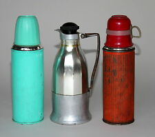 3x alte Thermosflasche Thermosflaschen Thermos - . - (252)
