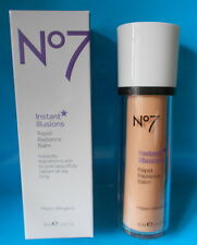Boots No7 Instant Illusions Rapid Radiance Balm Uplifting Bright Skin 30ml &15ml