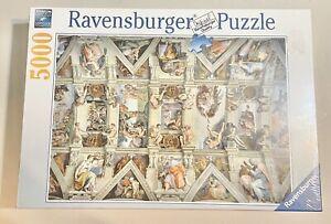 Ravensburger Sistine Chapel 5000 Piece Jigsaw Puzzle RARE # 17 429 4 NEW SEALED