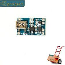 LiPo LiIon Akku 1A Lade Modul Lithium 18650 USB mit Schutz TP4056 für Arduino