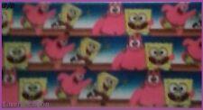 1 metre, SPONGEBOB, 22mm, Crabby Patty, 7/8, Ribbon, Grosgrain, Patrick, Hair