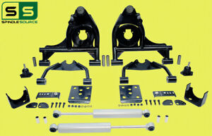 "4""/6"" Drop Control Arm Kit + Shocks  Fits 99-06 Chevy Silverado/GMC Sierra 1500"