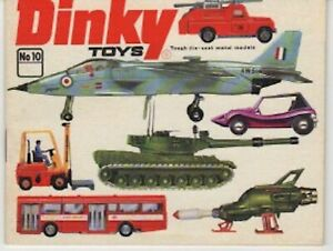 Dinky Die Cast Toys Catalog - Number 10 - 1974 - 40 pages
