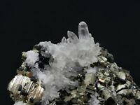 Pyrite, Sphalerite, and Quartz Crystals  335 Grams  Lot #SP1109A