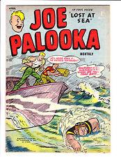 "Joe Palooka No 56 1957 - Austrailian-""Lost At Sea Cover ! """