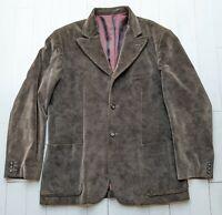 NICOLE FARHI Men's VELVET Jacket size XL - Really Fabulous & STYLISH !!!