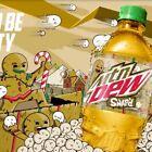 🥳PREORDER🥳 6x Gingerbread Snap'd Mountain Dew 20oz bottles 11/5