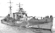 ROYAL NAVY C CLASS CRUISER HMS COLOMBO - PURSUIT OF SCHARNHORST & GNEISENAU