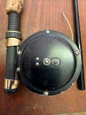 Vtg Martin Fly Fishing Rod And Reel #65