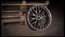 """Roues en Alliage X 4 19"""" Gunmetal R10 5x110 pour Vauxhall Astra Corsa Meriva Zafira"""
