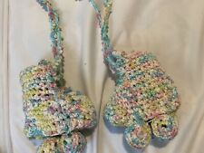 Baby Shower Knitted Girl Roller Skates