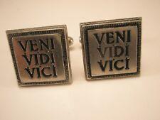 Veni Vidi Vici Vintage Cuff Links Fathers Day gift