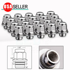 20 Flat Mag Lug Nuts 12x1.5 for Toyota Avalon 4Runner Tacoma Camry