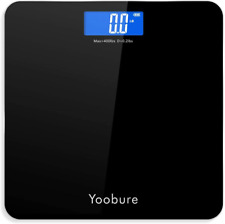 Weight Scale, Precision Digital Body Bathroom Scale with Step-On Technology, 6mm