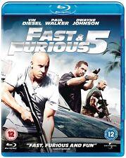 Fast & Furious 5 Blu-Ray (Region B & A) Blu Ray *NEW & SEALED*