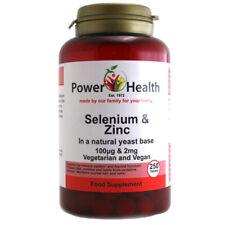 Power Health Selenium & Zinc -250 Tablets