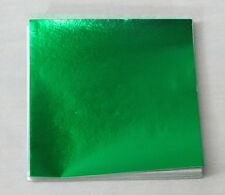 Emerald Green Candy Foil Wrappers Confectionery Foil 125 count