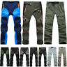 Mens Waterproof Outdoor Trekking Climbing Combat Trousers Tactical Casual Pants