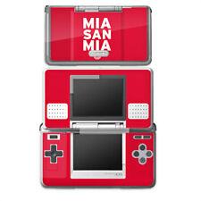 Nintendo DS Folie Aufkleber Skin - Mia san Mia FC Bayern München Rot