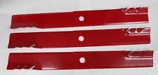 """Qty-3 24-1/2"""" ExMark 116-5171 G6 Gator Blade For 72"""" Cut, Oregon 392-057"""