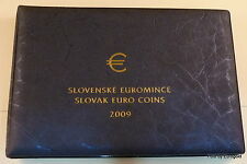 "Slowenien, KMS 2009 ""The First Set of Slovak Euro Coins"""