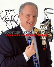 RUSH LIMBAUGH Signed 8x10 Autographed Photo reprint