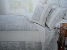 New in Package French Cottage Finely Stitched Twin Quilt