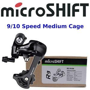 microSHIFT R9 9, 10 Speed Rear Derailleur Bike Cage Medium