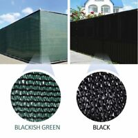 Dark Green/Black Fence Privacy Screen Outdoor Backyard Windscreen Shade