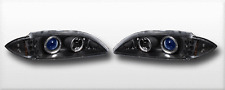 FITS CHEVY CAVALIER 95-99 HALO PROJECTOR BLACK/BLUE 1PC W/CORNER & LED LIGHT